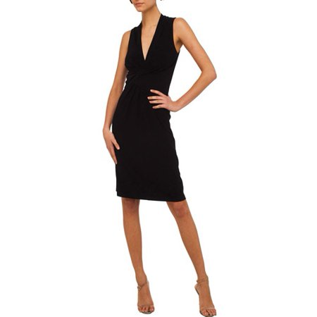 dfa9badc20cd3 Norma Kamali - Women's Sleeveless Wrap Dress - Walmart.com