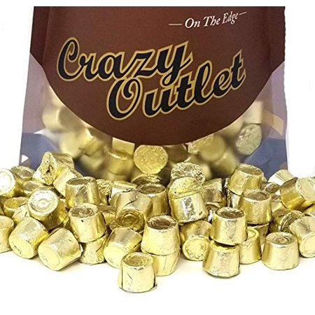 Rolo Chewy Caramel Chocolate Candy, Gold Foil, 1 pound bag (Golf Chocolate Candy)