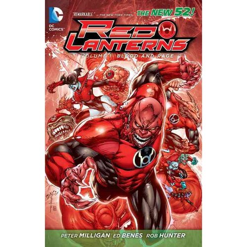 Red Lanterns 1: Blood and Rage