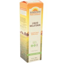 Sleep Aids: Sundown Naturals Liquid Melatonin