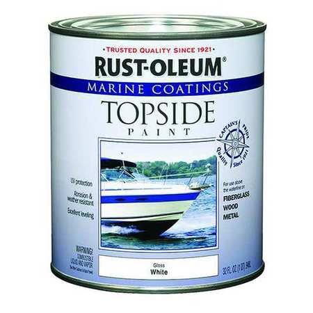 Rust Oleum 206999 White Topside Paint Alkyd