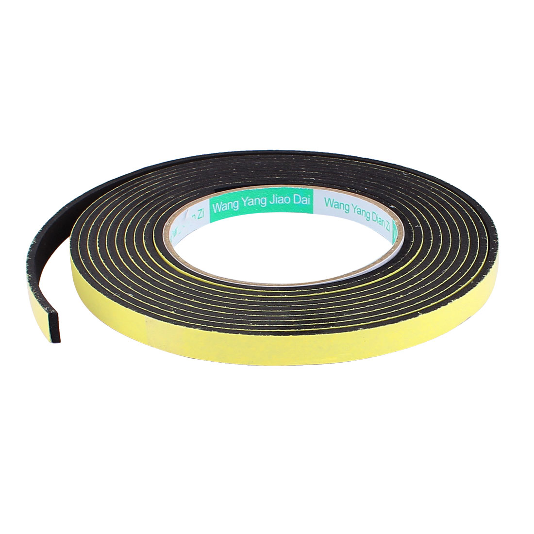 1CM Width 4M Length 3MM Thick Single Sided Sealing Shockproof Sponge Tape