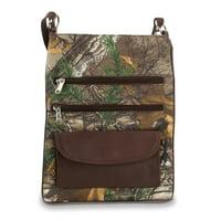 Brown RealTree Large Crossbody Bag