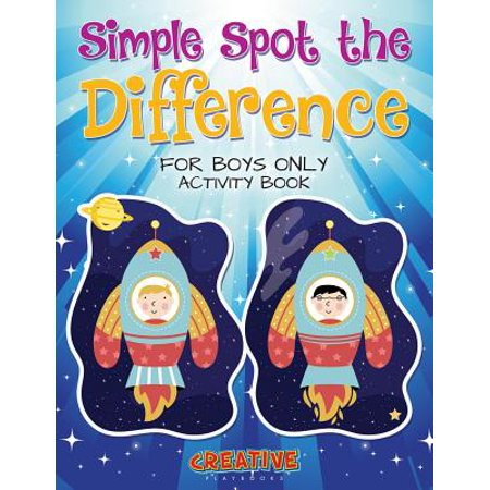 Simple Halloween Activities For Toddlers (Simple Spot the Difference for Boys Only Activity)