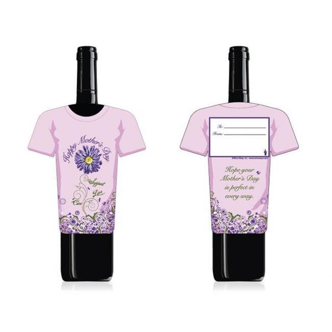 Wine Wear B027 Mother's Day Wine Bottle Gift Card