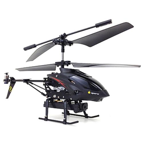 "9"" WL S977 3.5CH Metal Radio Control Gyro Rc Helicopter w/ Video Camera"