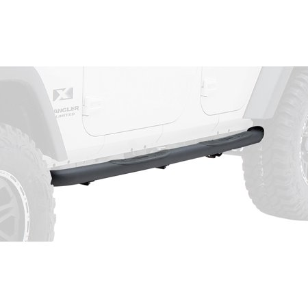 Diameter Side Bars - Sure Step 3 inch Diameter Side Bars, Textured Black Powdercoat