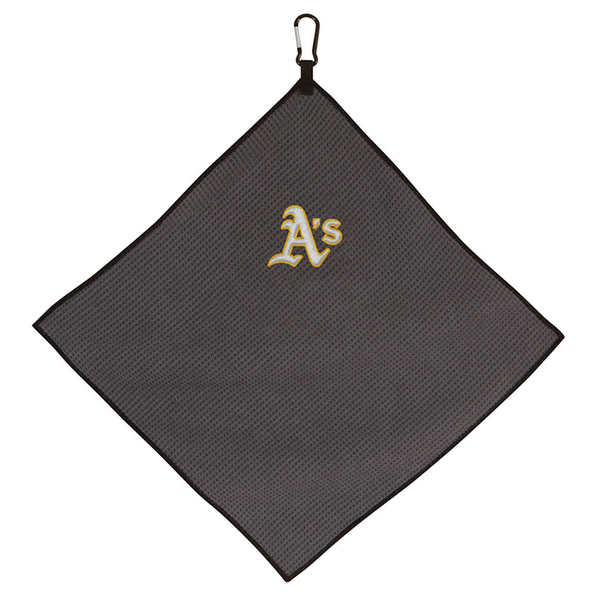 "Oakland Athletics 15"" x 15"" Microfiber Golf Towel - No Size"