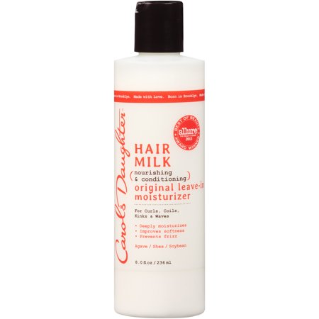 Carol's Daughter Hair Milk Original Leave In Moisturizer, for Curly Hair, with Shea Butter, 8 fl