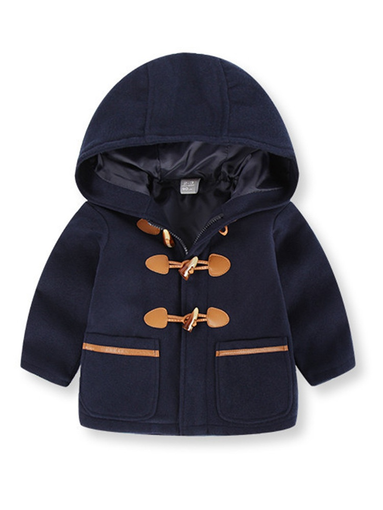 Mosunx® Toddler Kids Baby Boys Autumn Winter Hooded Coat Cloak Jacket Thick Warm Clothes