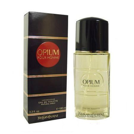 Yves Saint Laurent Opium pour Homme Eau de Toilette, 100 ml/ 3.3 fl oz (for (Yves Saint Laurent Pour Homme After Shave)