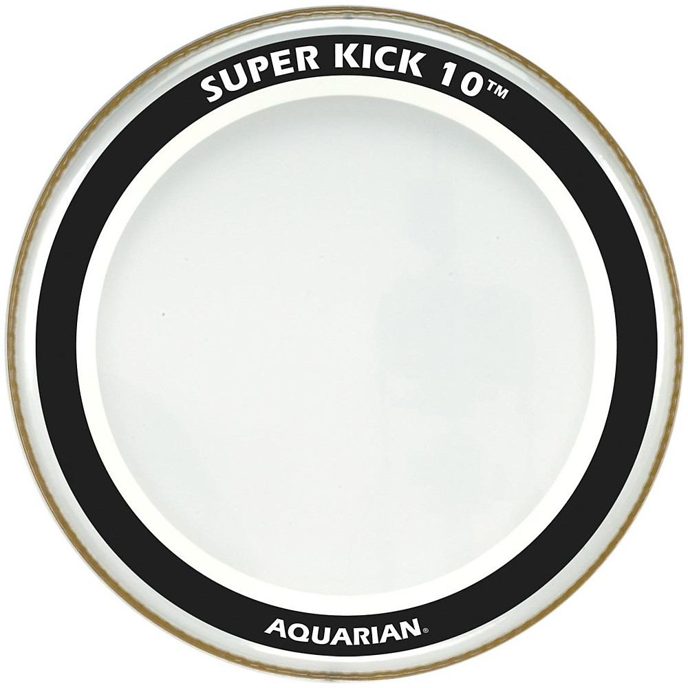 Aquarian Super-Kick 10 Bass Drumhead Clear 20 in.