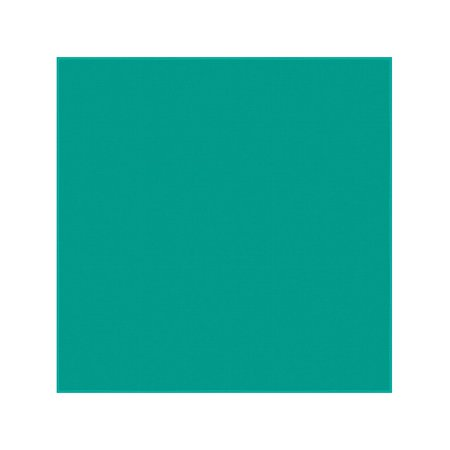 Teal Solid Bandanas - Dozen Packed 22x22