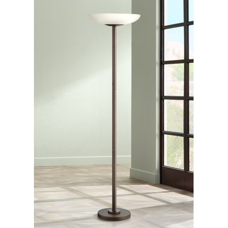100+ EPIC Best Possini Euro Design Deco Style Walnut Column Floor Lamp