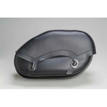 Dowco SB1809 Revolution Series Hard Mount Saddlebags - Standard Leather - 20 1/2in.L x 6in.W x 11 1/2in.H