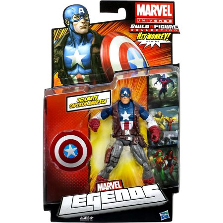 Marvel Legends 2013 Series 1 Ultimate Captain America Action Figure