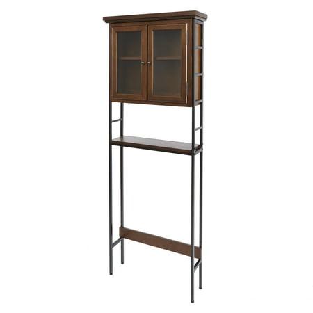 Leighton Bathroom Collection 3-Tier Space Saver with Glass Doors Collection Space Saver
