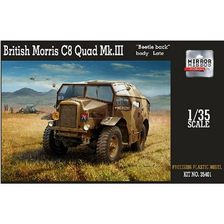 (1/35 British Morris C8 Quad Mk III Beetle-Back Body Late Artillery Tractor)