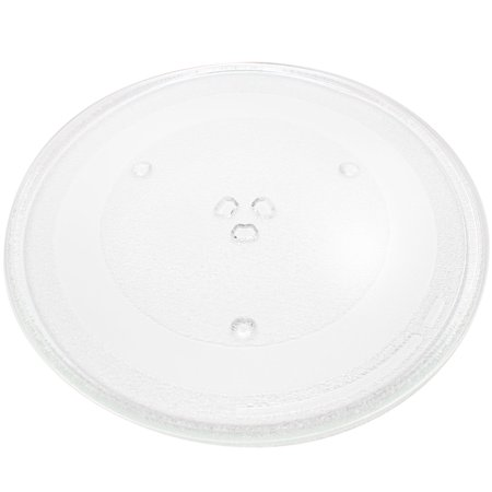 "Replacement Panasonic NNS615 Microwave Glass Plate - Compatible Panasonic A06014T00AP, F06014T00AP Microwave Glass Turntable Tray - 13 1/2"" (345mm) - image 4 of 4"
