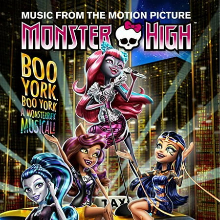 Monster High: Boo York, Boo York Soundtrack (CD) - Boo To You Halloween Music