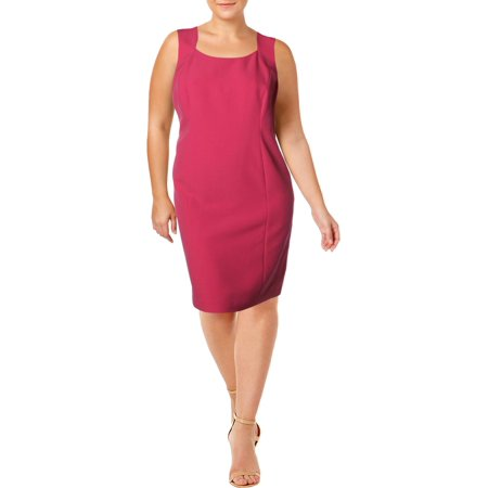 Sheath Suit - Kasper Womens Plus Sleeveless Suit Separate Sheath Dress