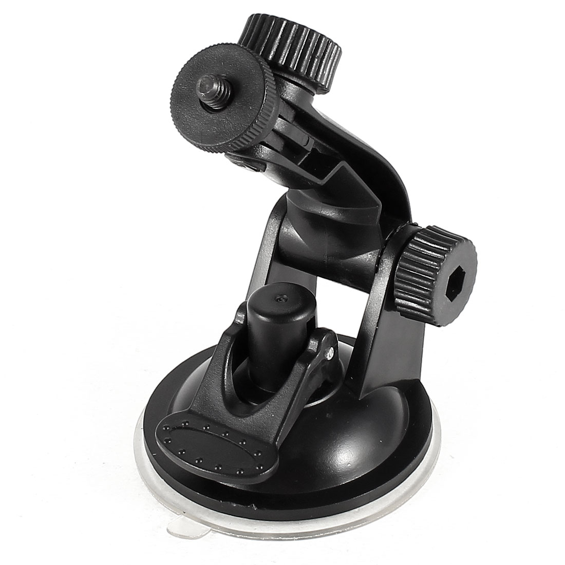 Unique Bargains Black Suction Cup Stand Bracket Car Windshield Dashboard Camera Mount