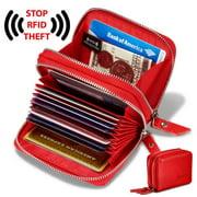 Wallets for women, rfid blocking women's wallet,credit card holder, genuine leather purse,card wallet