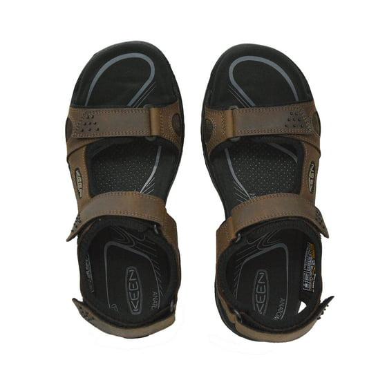 7536cf96245 Keen Men s Rialto 3 Point Adjustable Strap Fashion Sandals - Dark Earth  Black - Walmart.com