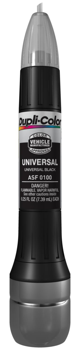 ASF0100 Universal Black Exact-Match Scratch Fix All-in-1 Touch-Up Paint, Ux 25 Allin1 05 Black TouchUp... by Dupli-Color