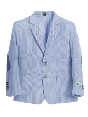 Gioberti Boys and Kids Seersucker Blazer Jacket