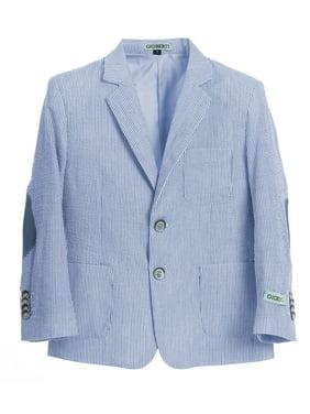 Gioberti Boys and Kids Seersucker Blazer Jacket