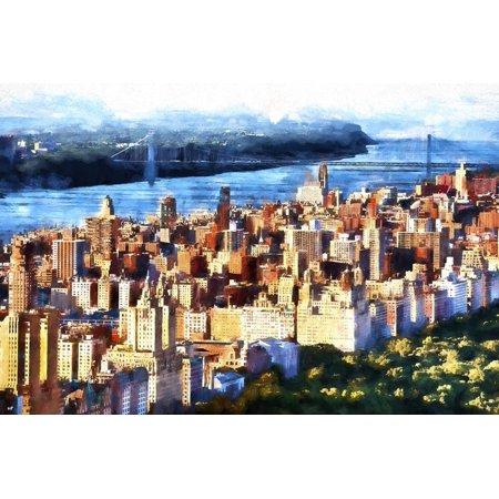 Manhattan Upper West Side Print Wall Art By Philippe Hugonnard