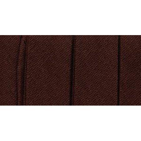 "Wrights Single Fold Bias Tape .5""X4yd-Mocha - image 1 of 1"