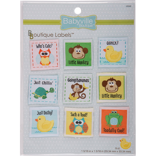 Dritz Babyville Boutique Gender Neutral Labels