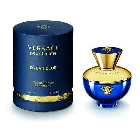 Dylan Blue Pour femme By Versace Eau De Parfume 3.4 Oz Spray (Maquillage D'halloween Femme)