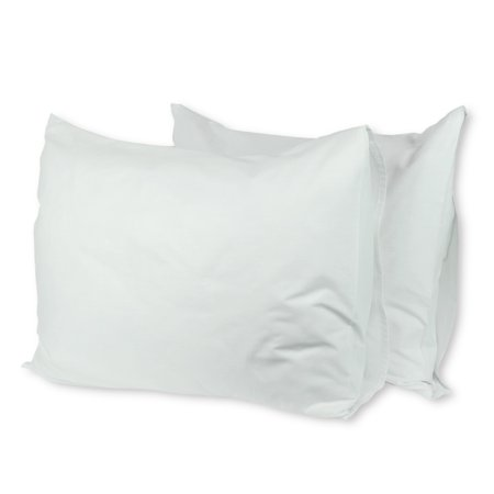 Luxury Hotel Collection 60% Cotton/40% Polyester Pillowcase Set of 2 - Queen Size - White