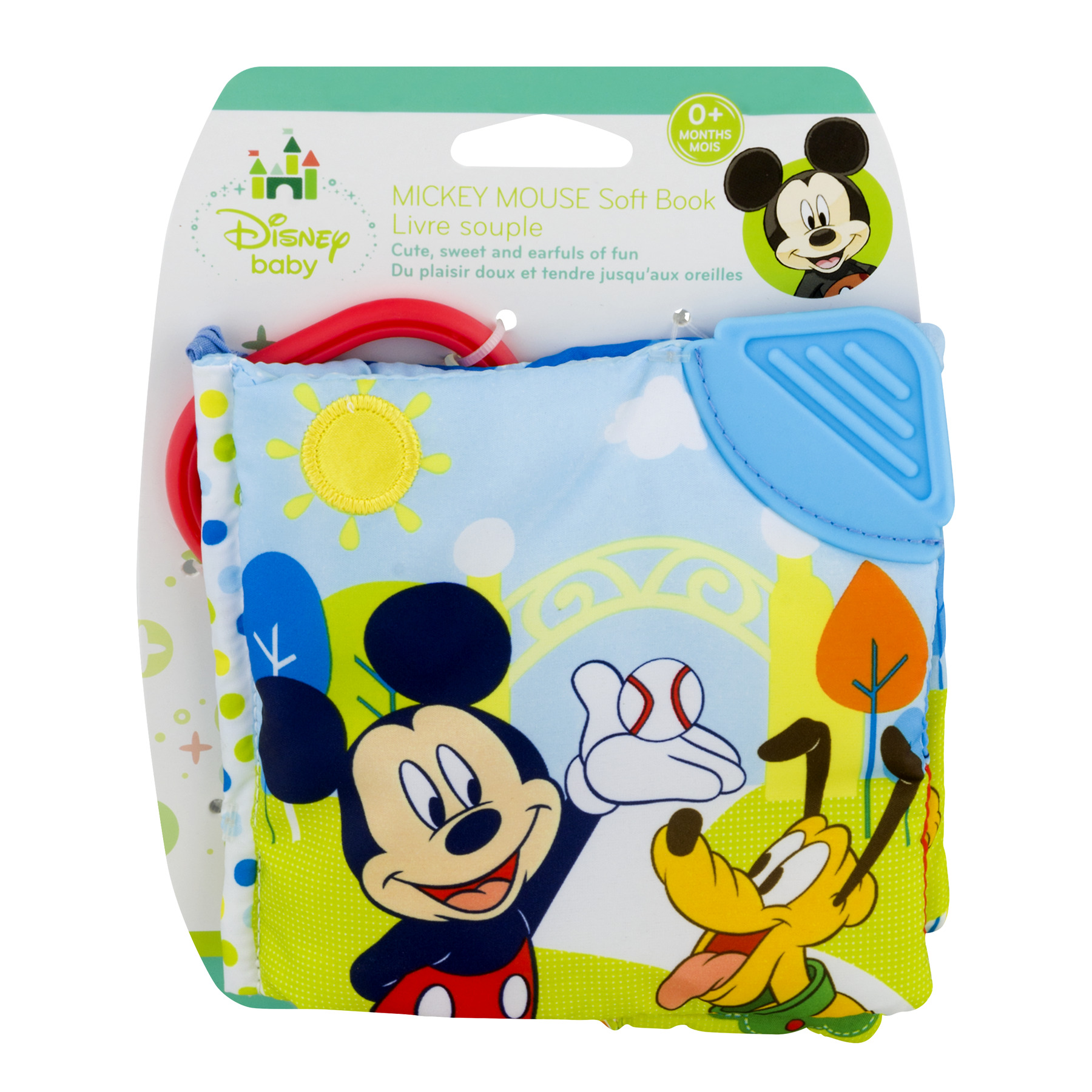 Disney Baby Mickey Mouse Soft Book 0+ Months, 1.0 CT by Kids Preferred