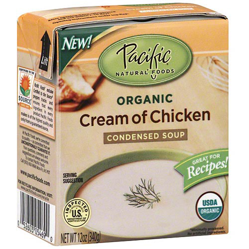 Pacific Natural Foods Cream of Chicken Soup, 12 oz (Pack of 12)