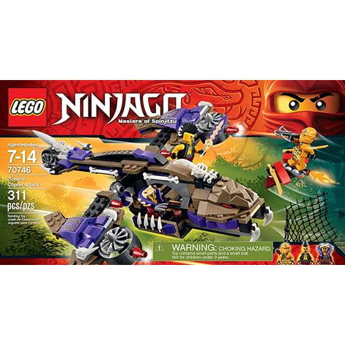 Lego Ninjago Condrai Copter Attack 70746 Construction Toy by Lego