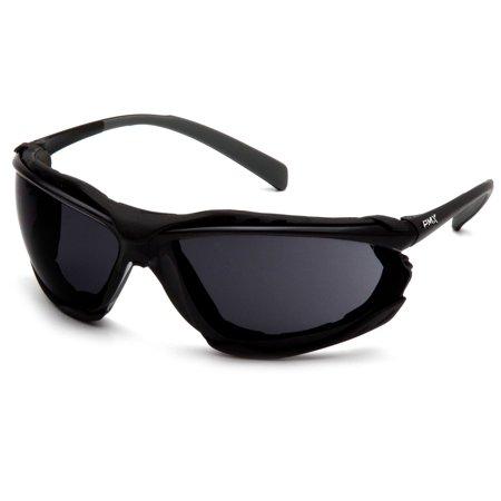Pyramex Safety SB9323STM Proximity® Safety Glasses Black Frames Dark Gray H2MAX Anti-Fog Lens