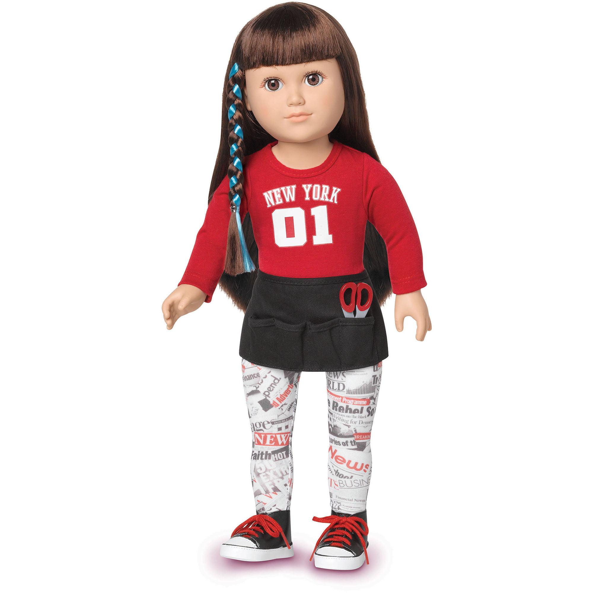 "My Life As Hairstylist 18"" Doll Brunette Walmart"