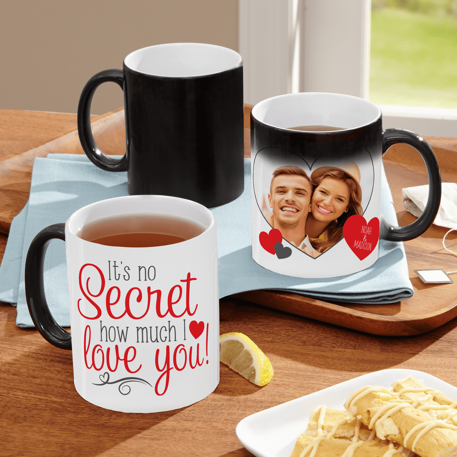 16 Ounce Lightweight Tin Cup Red Valentine XOXO Enamel Camping Coffee Mug - Valentine Mug for Men and Women