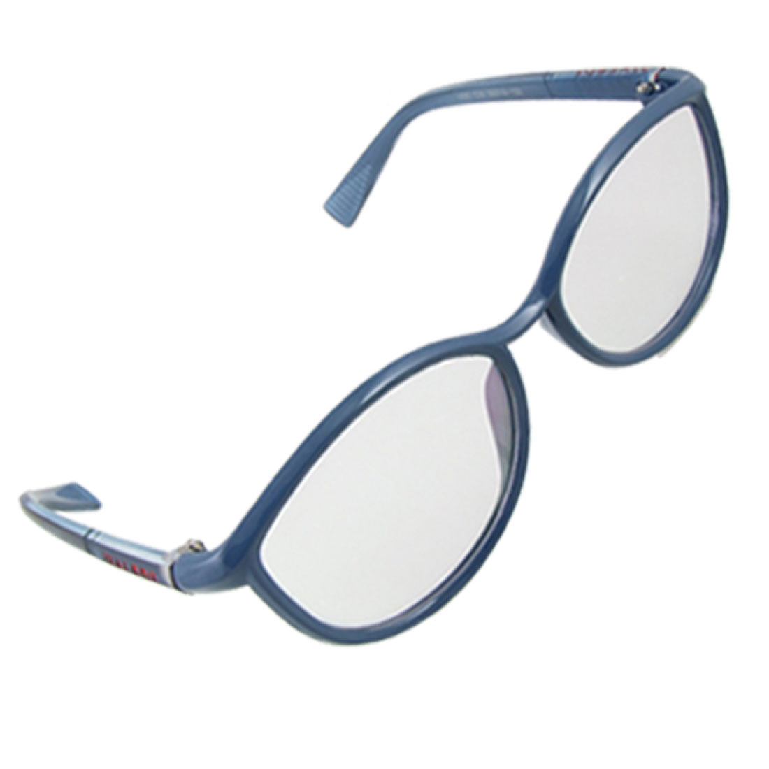 f38c0bd77f5 Lady Cat Eye Style MC Lens Blue Full Rim Plain Glasses
