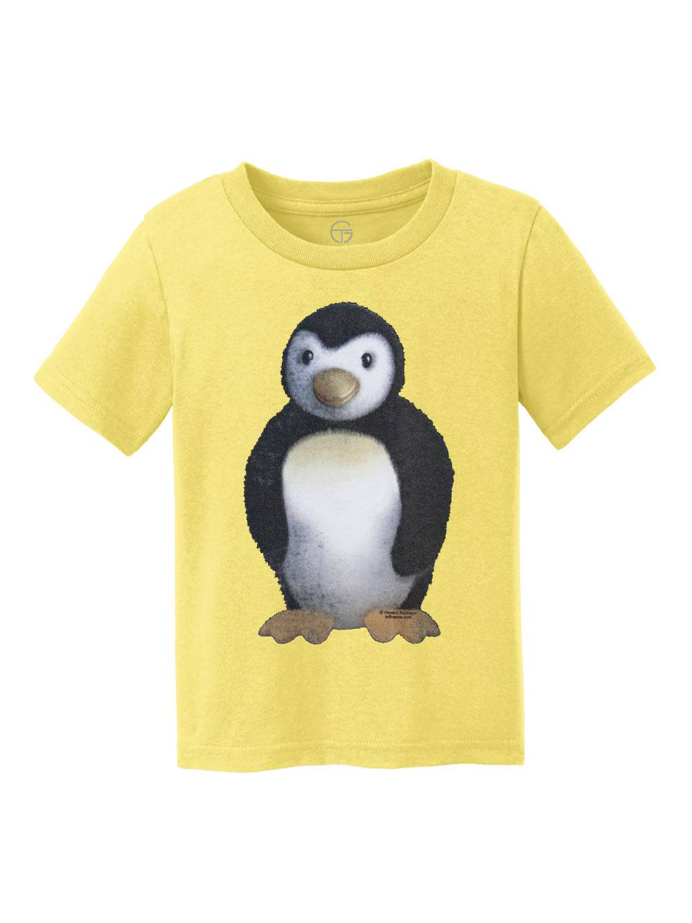 Fuzzy Penguin Youth Cotton T-Shirt