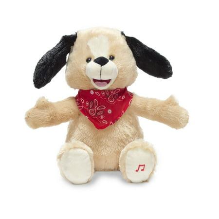 Bingo My Name-O Puppy 11 inch Animated Plush - Stuffed Animal by Cuddle Barn