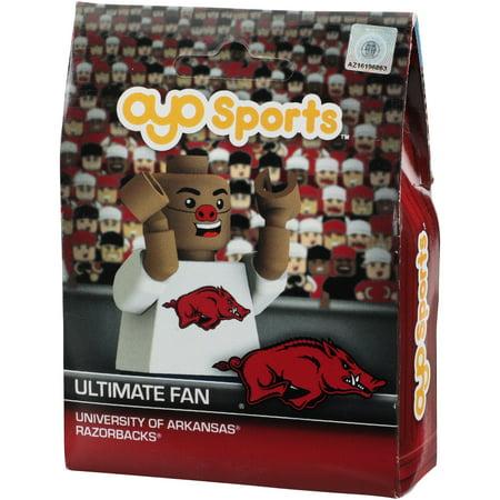 Arkansas Toy - Arkansas Razorbacks OYO Sports Fan Face Minifigure - No Size
