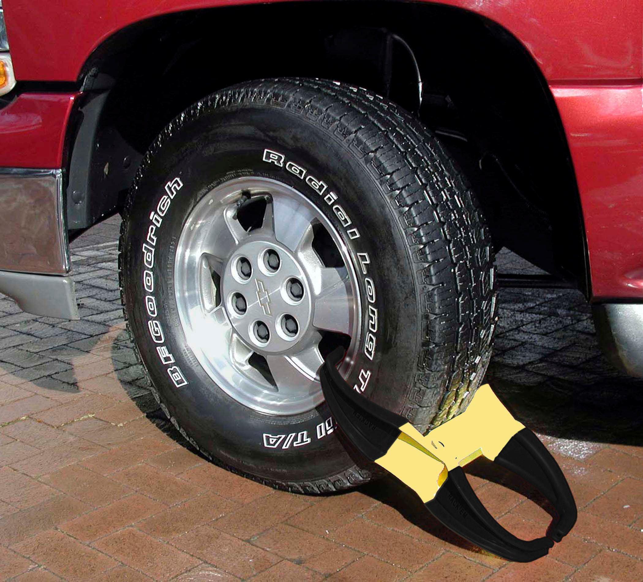 keyed Alike Rack Em Magnum Expandable Wheel Lock RA-25K