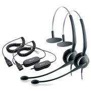 Jabra GN2120 Mono NC Headset W/ GN1200 Cord (2-Pack)