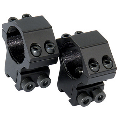 "CenterPoint Firearm Scope 2-Piece 1"" Dovetail Ring, High Profile"