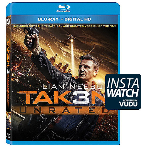 Taken 3 (Blu-ray   Digital HD) (With INSTAWATCH) (With INSTAWATCH) (Widescreen)
